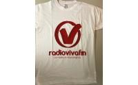 Tshirt Vivafm Logo sD Bianca